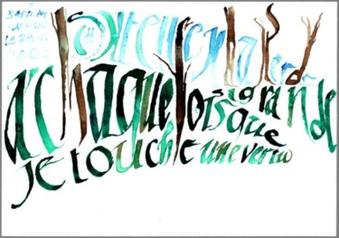 « Thé vert et position »-CHCA 0121